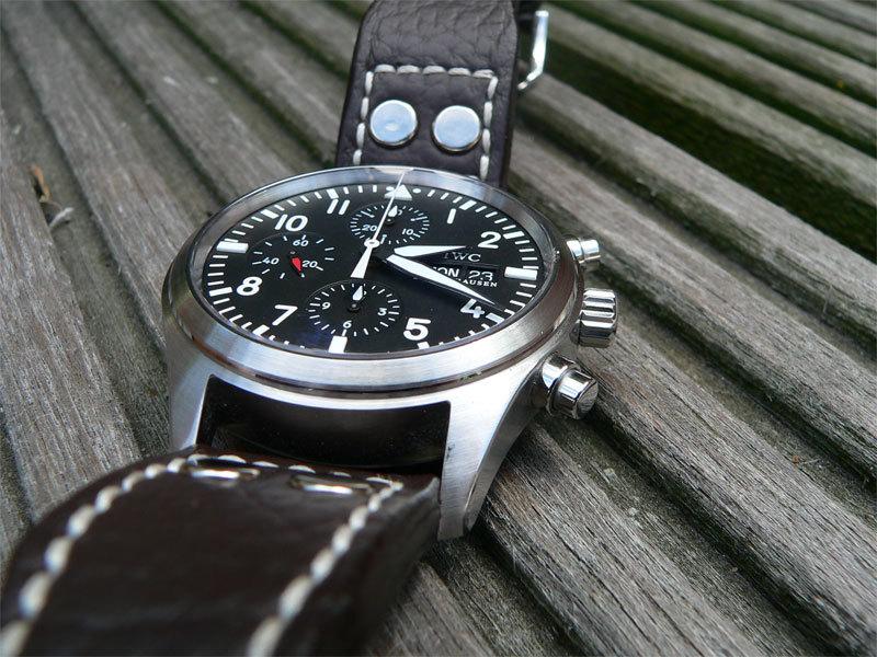 IWC Pilot Chronograph 3717