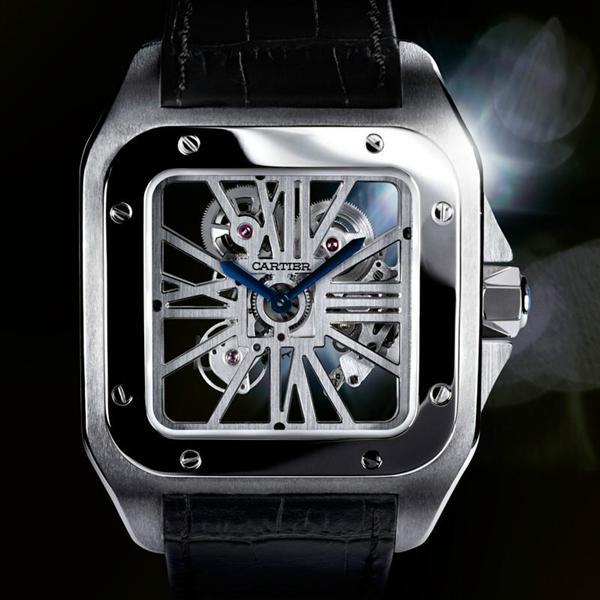 Cartier Haute Horlogerie Santos 100 Squelette.JPG