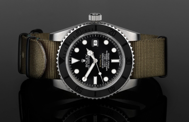 Submariner Ceramic STEALTH Mk III
