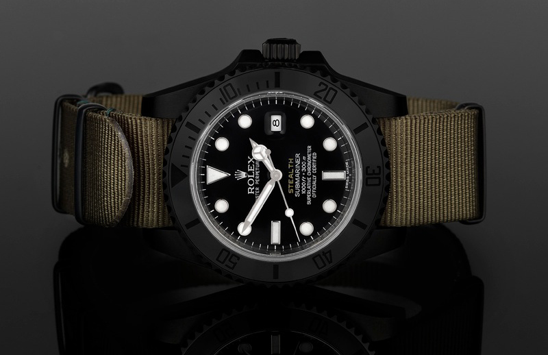 Submariner Ceramic STEALTH Mk IV