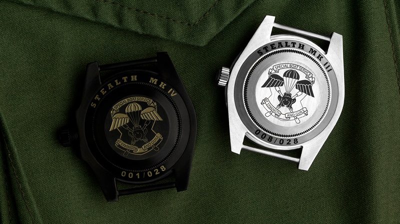 Project X Designs Submariner STEALTH case back