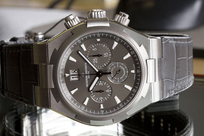 Vacheron Constantin Overseas Chronograph Steel Titanium