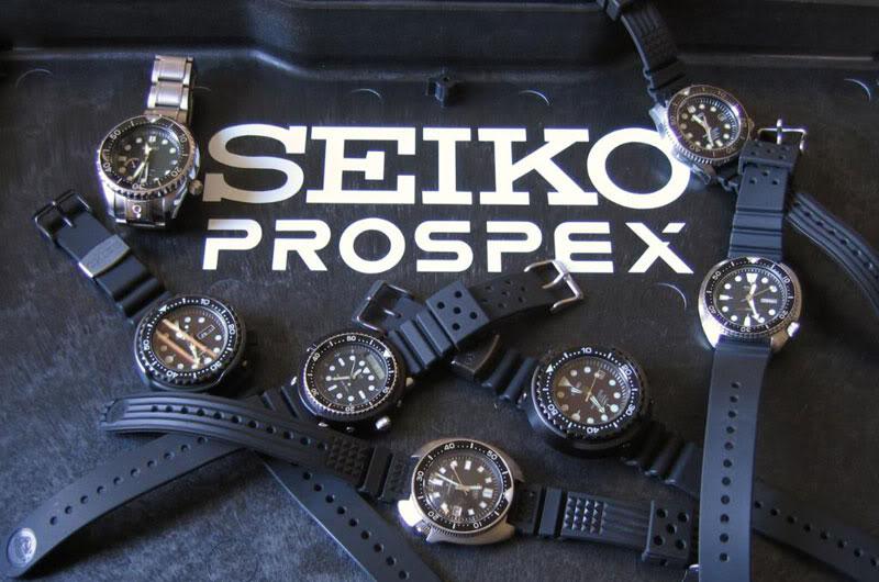 Seiko prospex collection