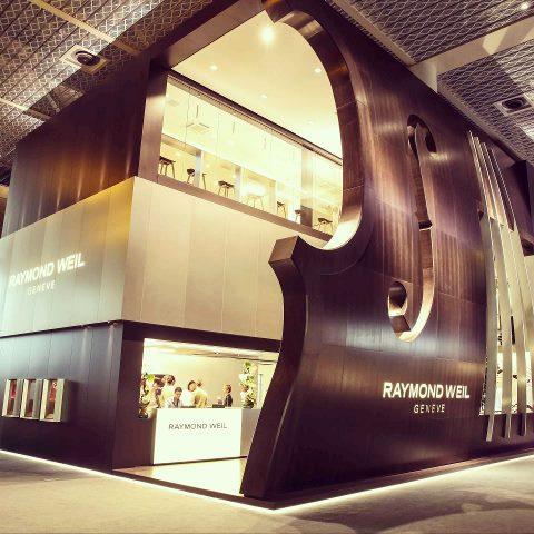 Raymond Weil Baselworld booth