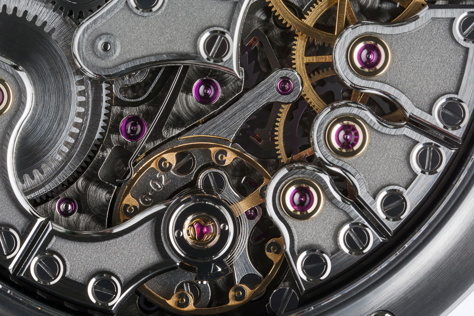 Gronefeld One Hertz Techniek Nocturne closeup movement