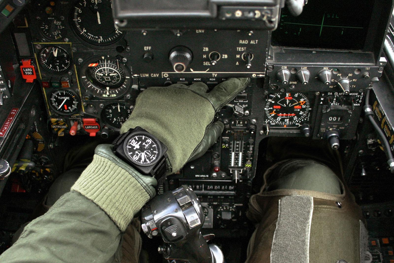 Bell & Ross cockpit