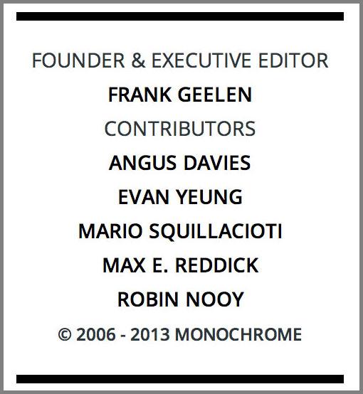 Monochrome contributors