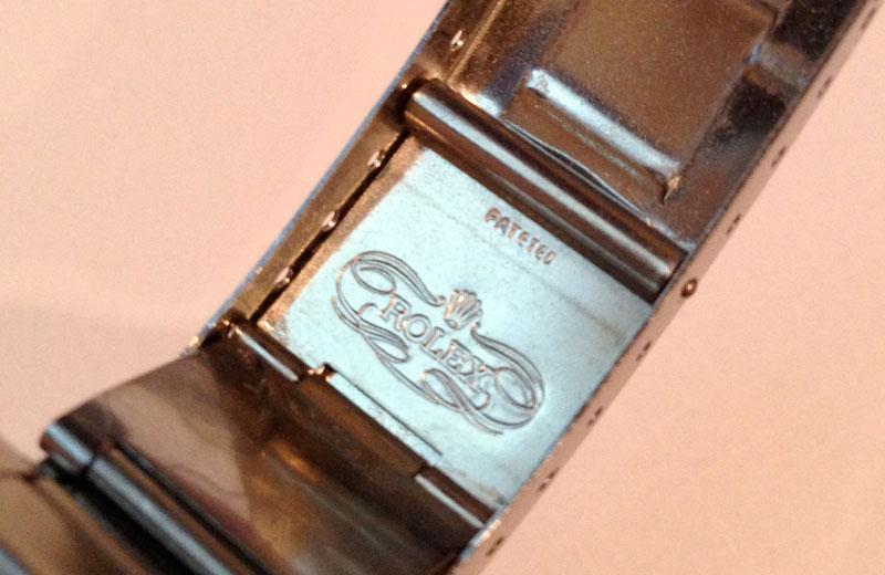 Rolex clasp ref. 9315 pateted