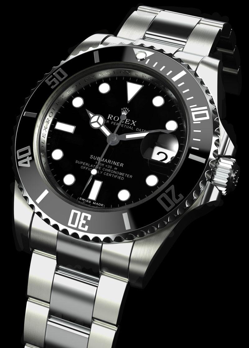 Rolex Submariner Titane