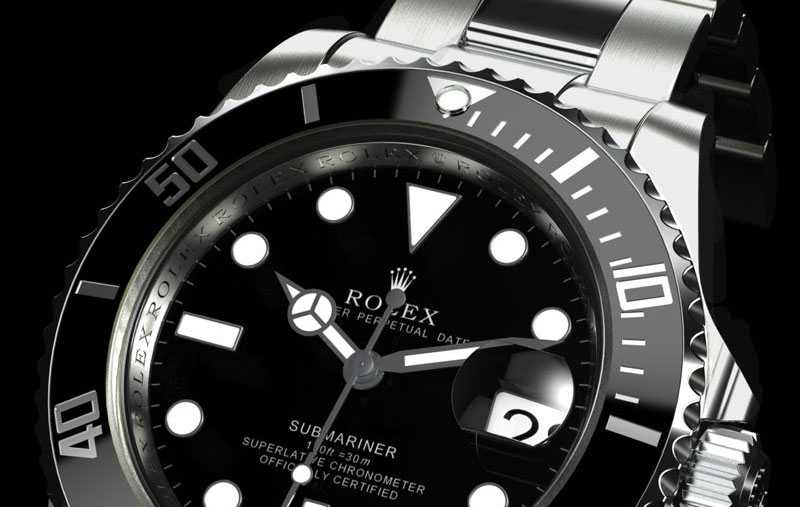 rolex submariner titanium