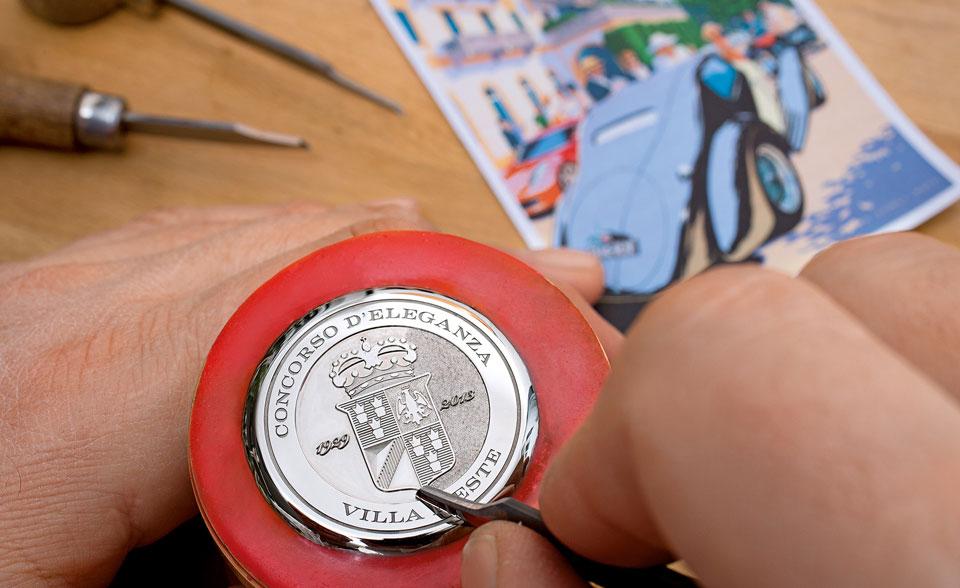 Lange 1 Timezone  Concorso 2013 engraving