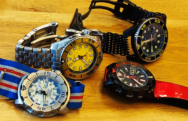 Seiko Thailand Limited Editions