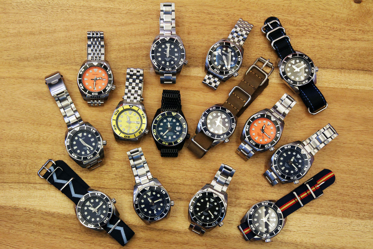 Seiko Sumo GTG Table shot