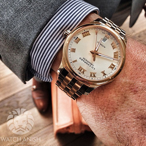 Chopard LUC 1937 Classic in red gold