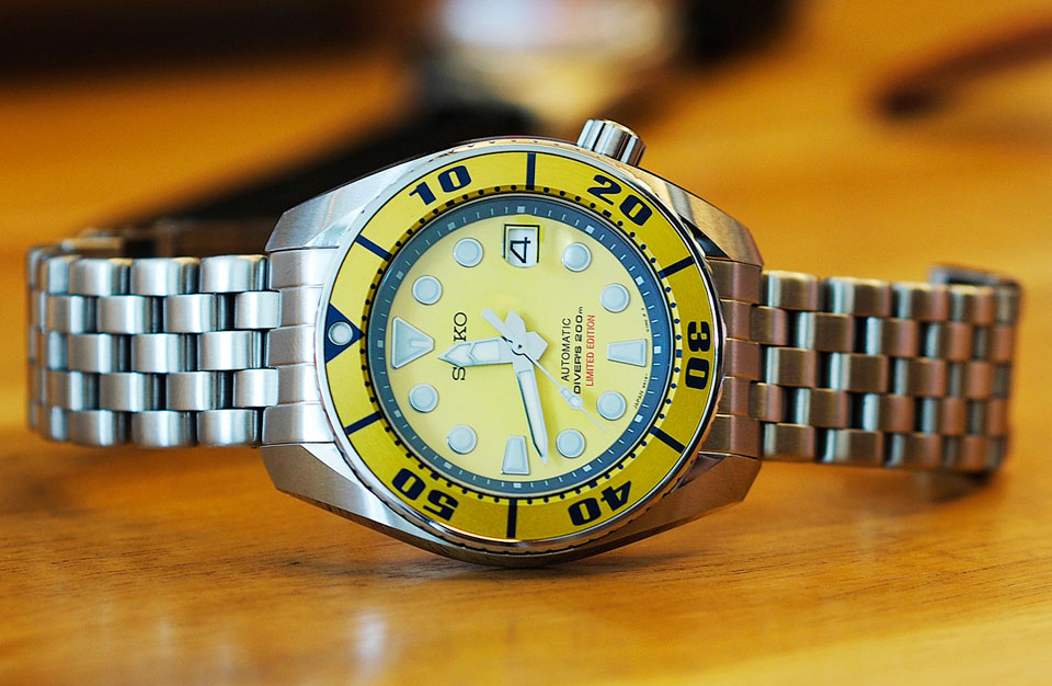 Seiko Yellow Sumo Limited Edition