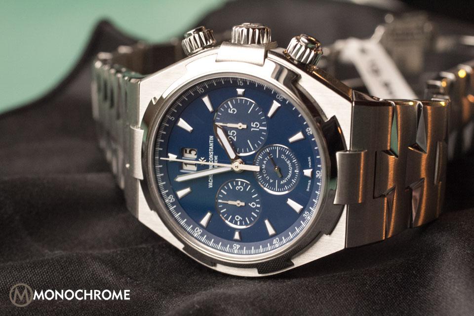 Vacheron Constantin Overseas Chronograph Deep Blue Dial