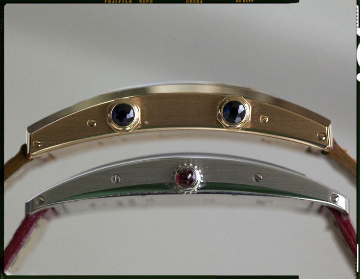 Cartier Tank Cintree side