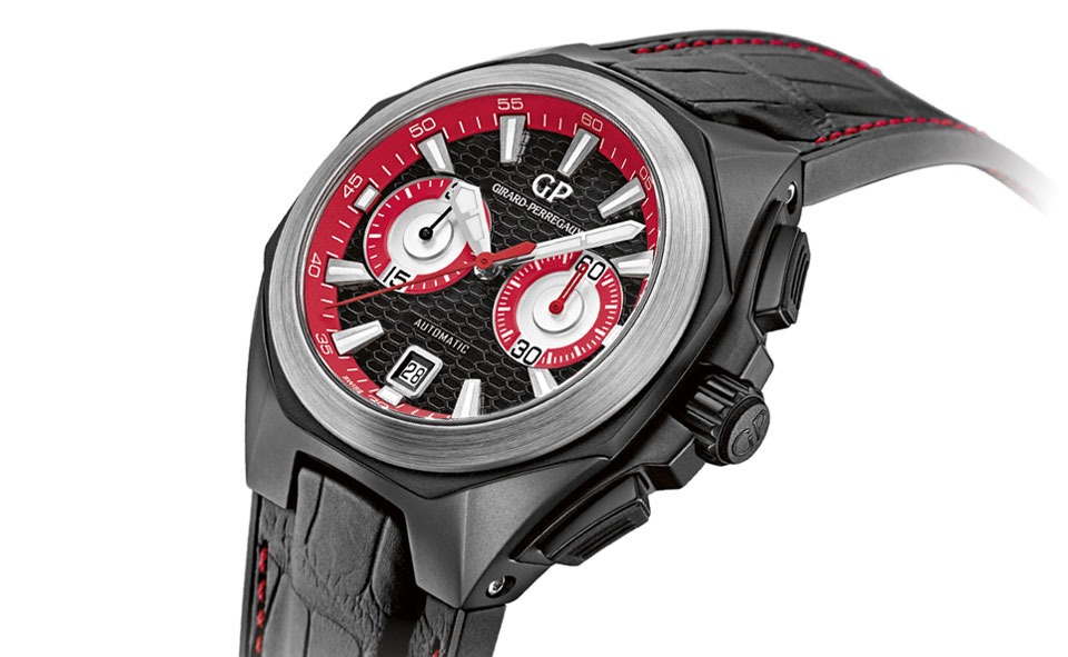 Girard-Perregaux Chrono Hawk ceramic only watch 2013