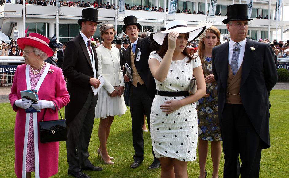 Investec Derby queen Elizabeth