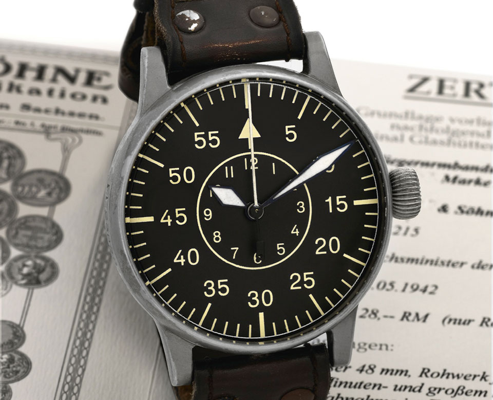 b50dc71db01 The History of the Pilot Watch Part Five  B-Uhr - Monochrome Watches