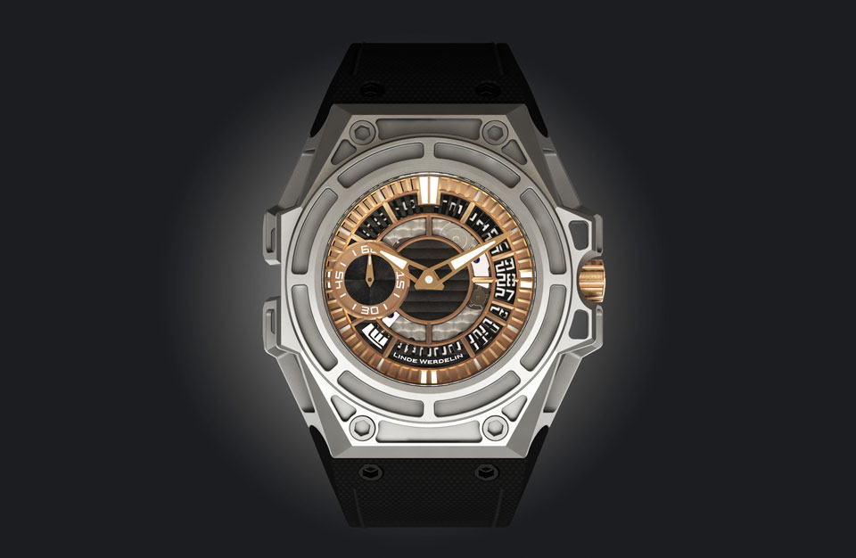 Linde Werdelin SpidoLite II Titanium Gold US
