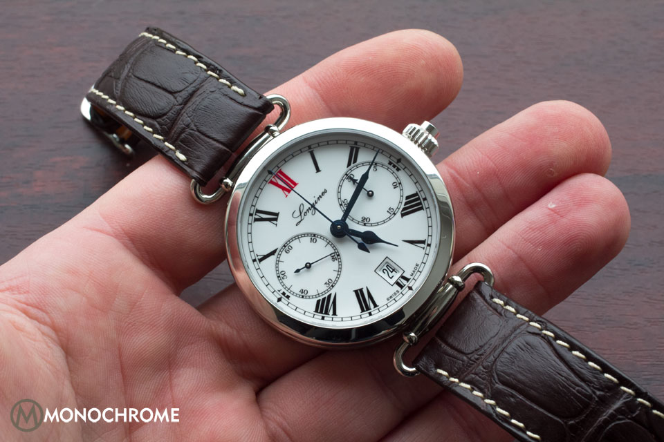 Longines Column-Wheel Single Push-Piece Chronograph 180th Anniversary