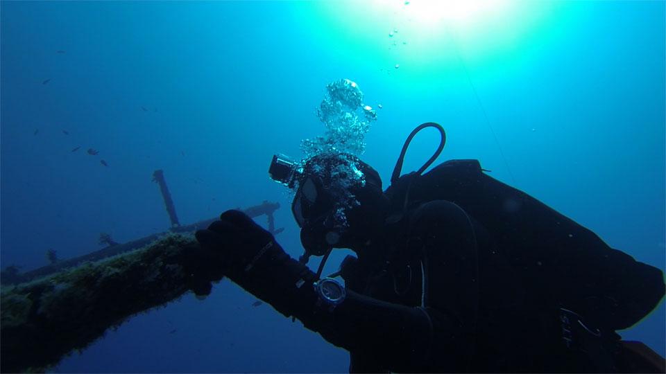 Oris Aquis Depth Gauge