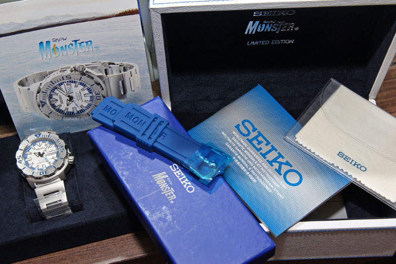 Seiko Snow Monster - Thailand Limited Edition