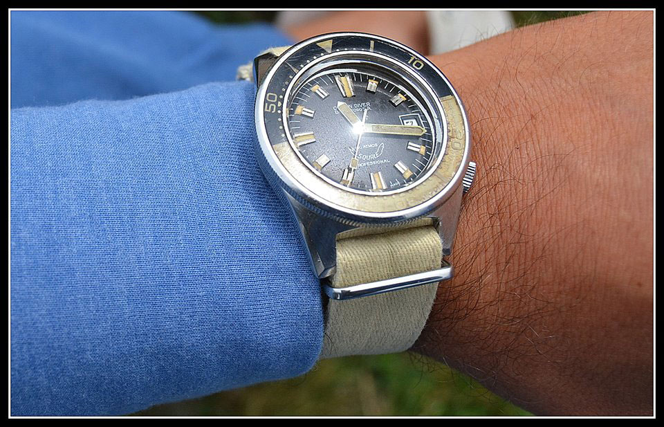 Squale Oceans Diver Blandford 100 Atmos