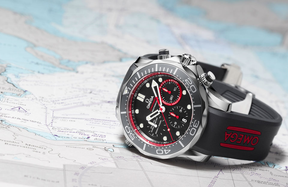 Omega ETNZ Seamaster Diver Americas Cup