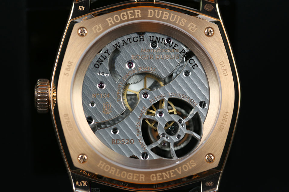 Roger Dubuis Monegasque Tourbillon for Only Watch 2013