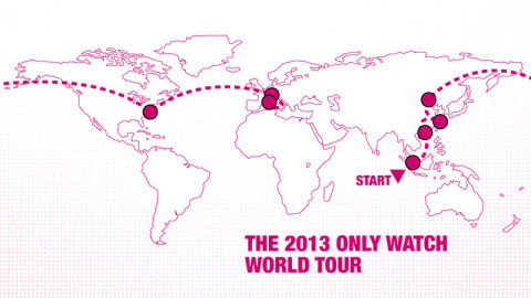 Only Watch 2013 World Tour