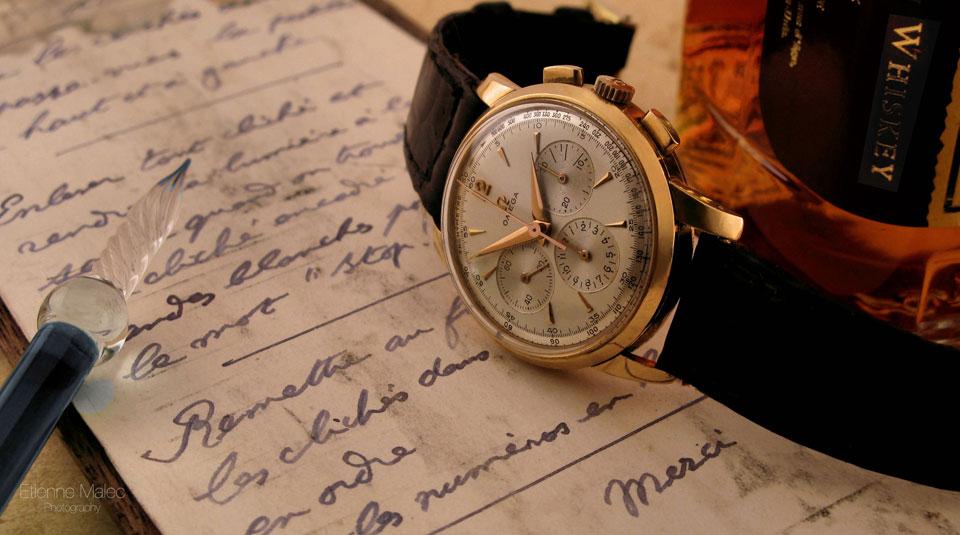Vintage Omega Chronograph 1957 cal.321