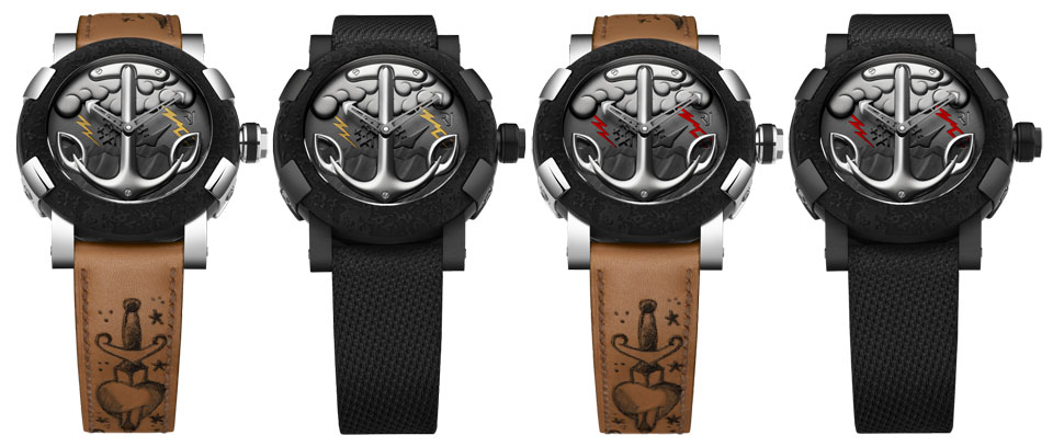Romain Jerome Tattoo DNA collection
