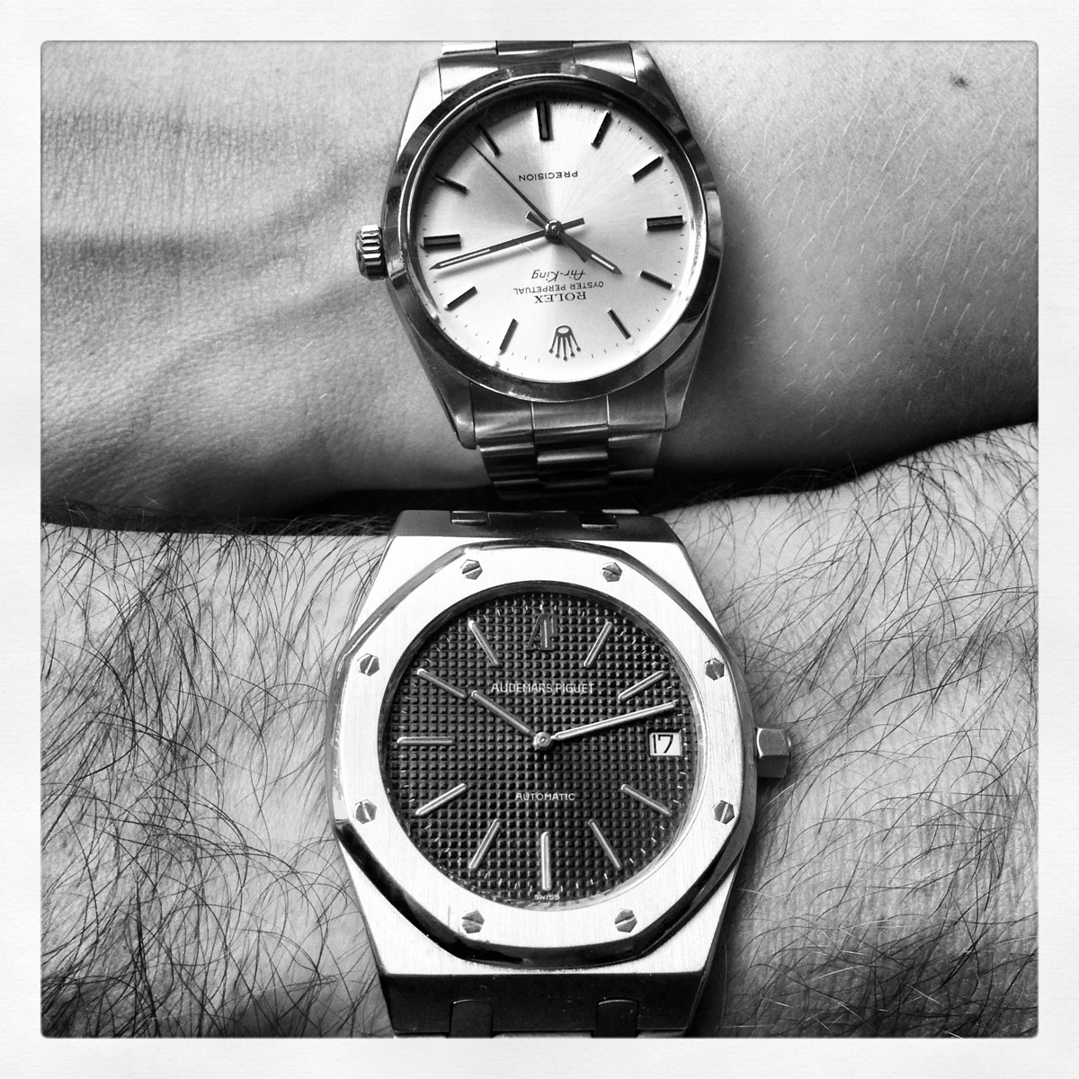 His & Hers - AP Royak & Rolex Airking