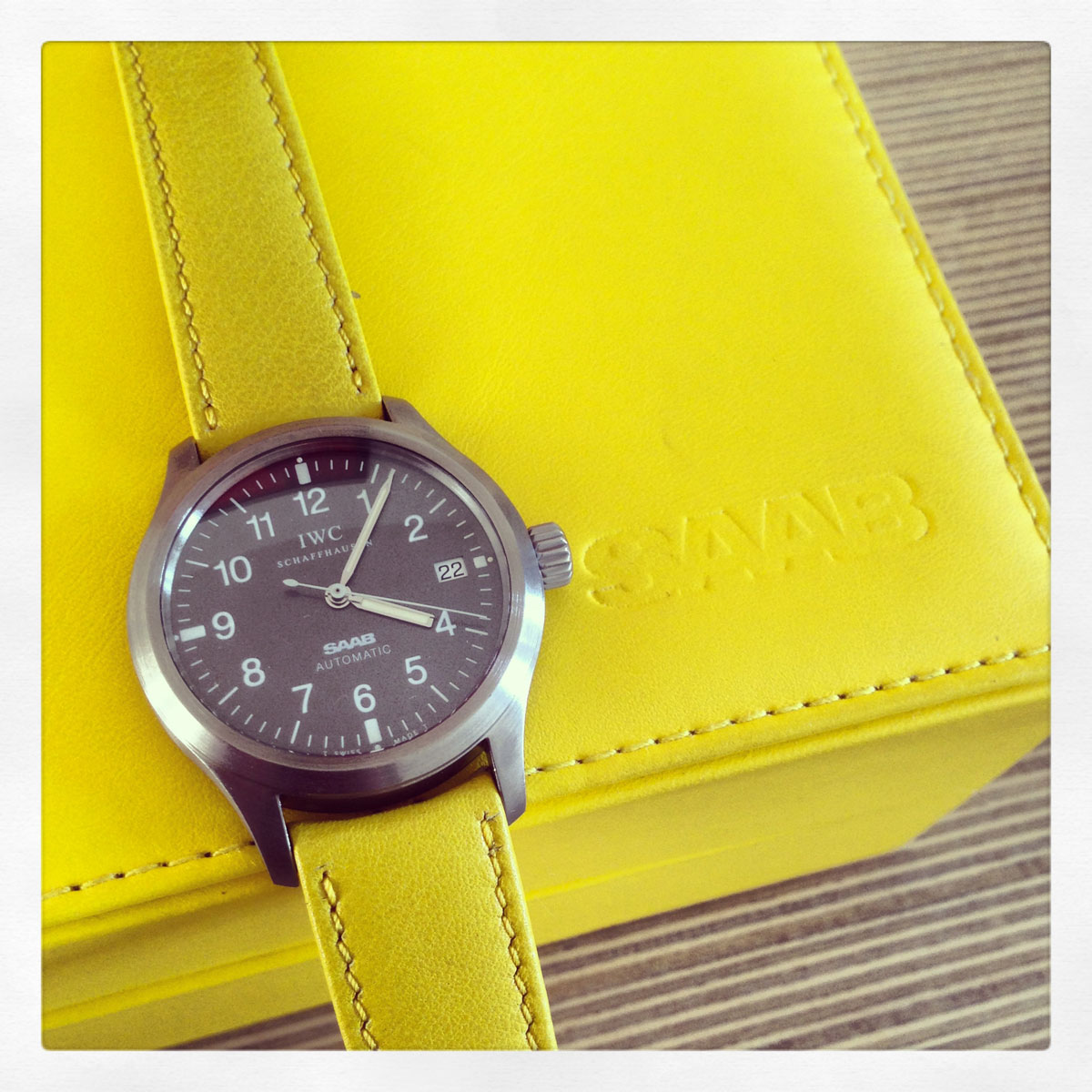 IWC Mark XII Mellow Yellow