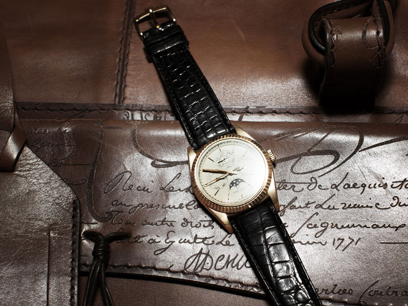 Rolex Perpetual Calendar by Franck Muller