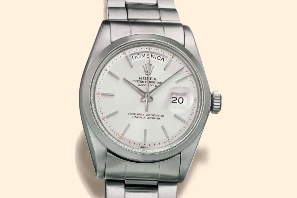 Rolex Day-Date ref.6611 steel