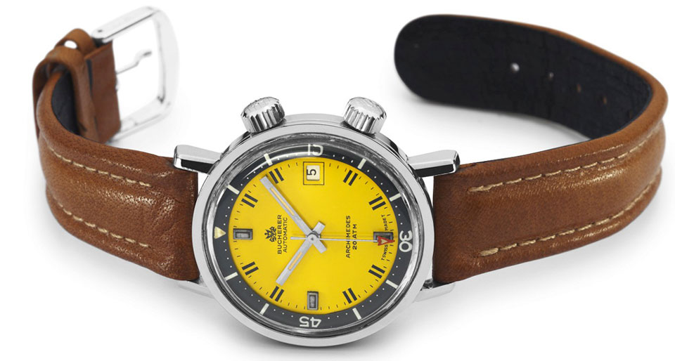 1970 Carl Bucherer Archimedes Dive Watch