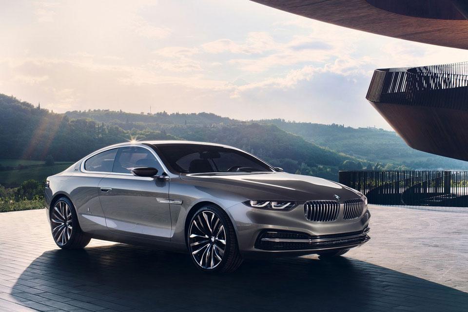 BMW Pininfarina Gran Lusso coupe concept car 2013