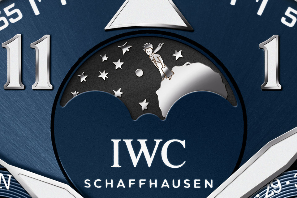 IWC Big Pilot Perpetual Calendar Petit Prince in platinum