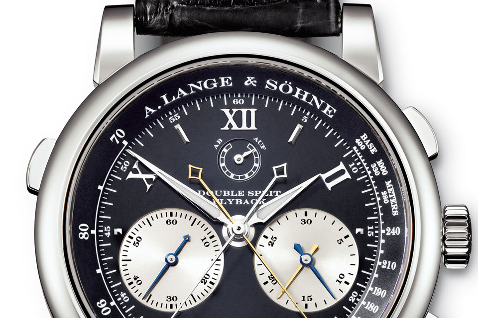 A.Lange & Söhne Double Split in steel