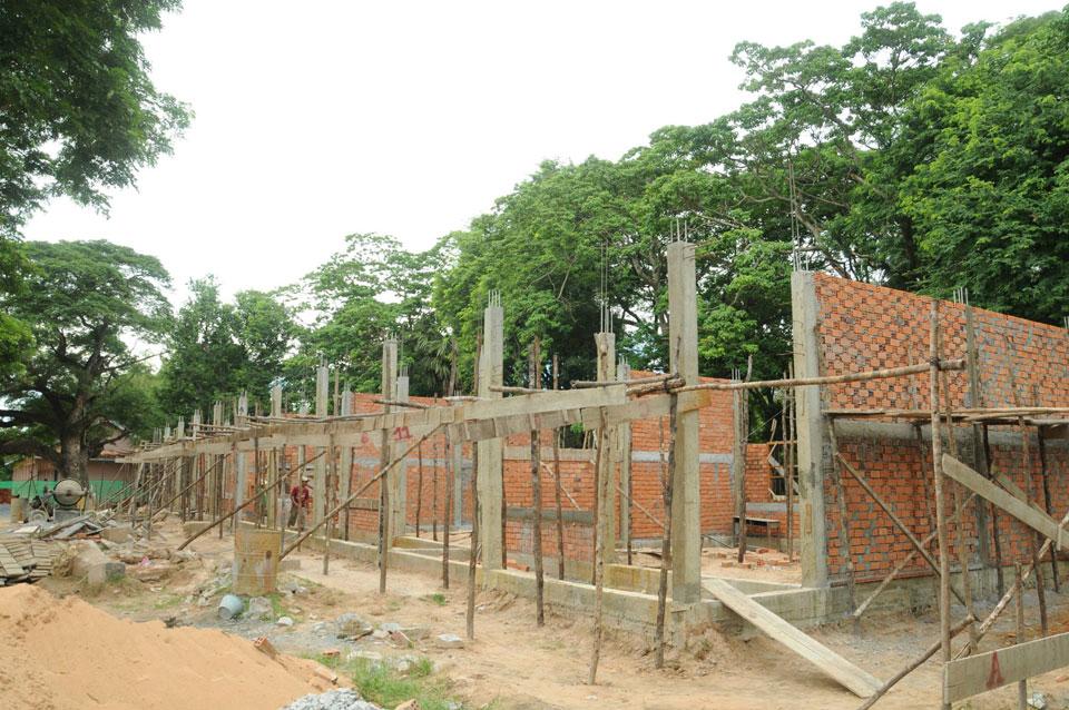 School building Siem Riem, Cambodia