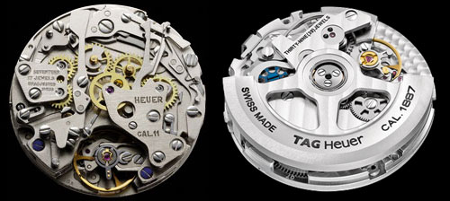 TAG heuer calibre 11 and 1887