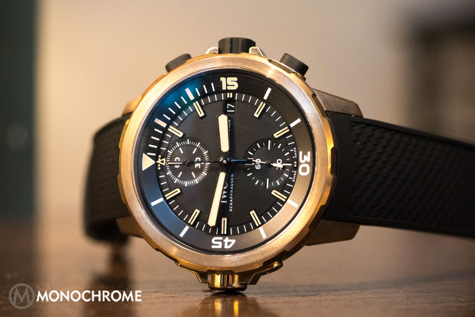 iwc aquatimer chronograph edition expedition charles darwin