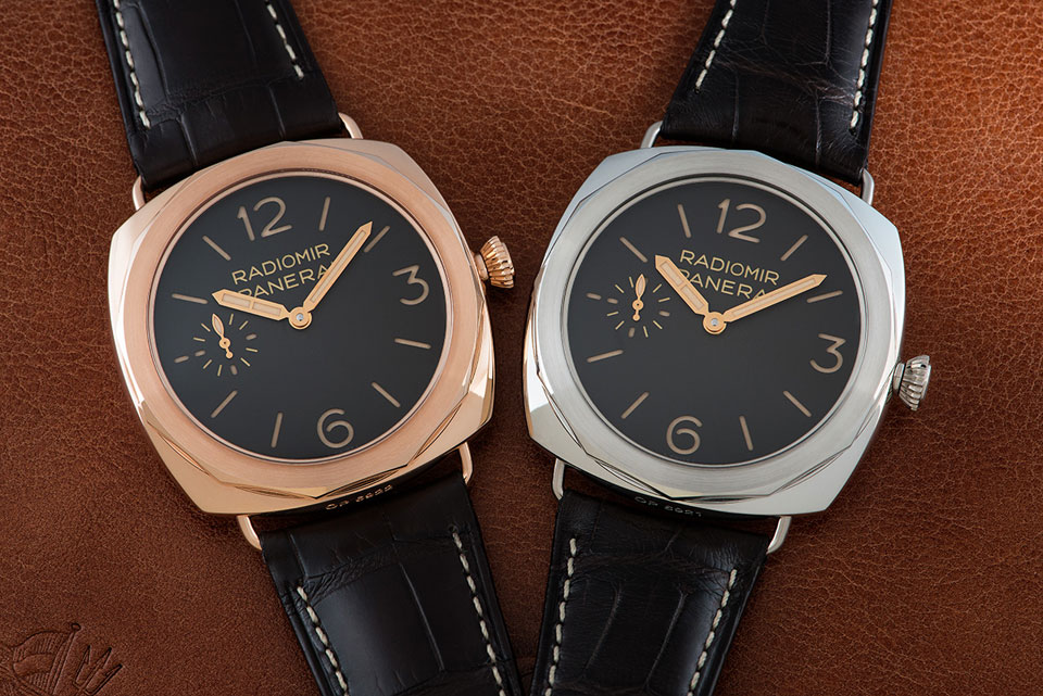 Panerai PAM00522 and PAM00521 Radiomir Special Edition