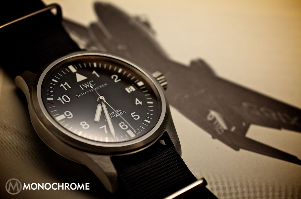 e3ef1bf74fe4 An Ode to a Timeless Classic  The IWC Mark Series - Monochrome Watches