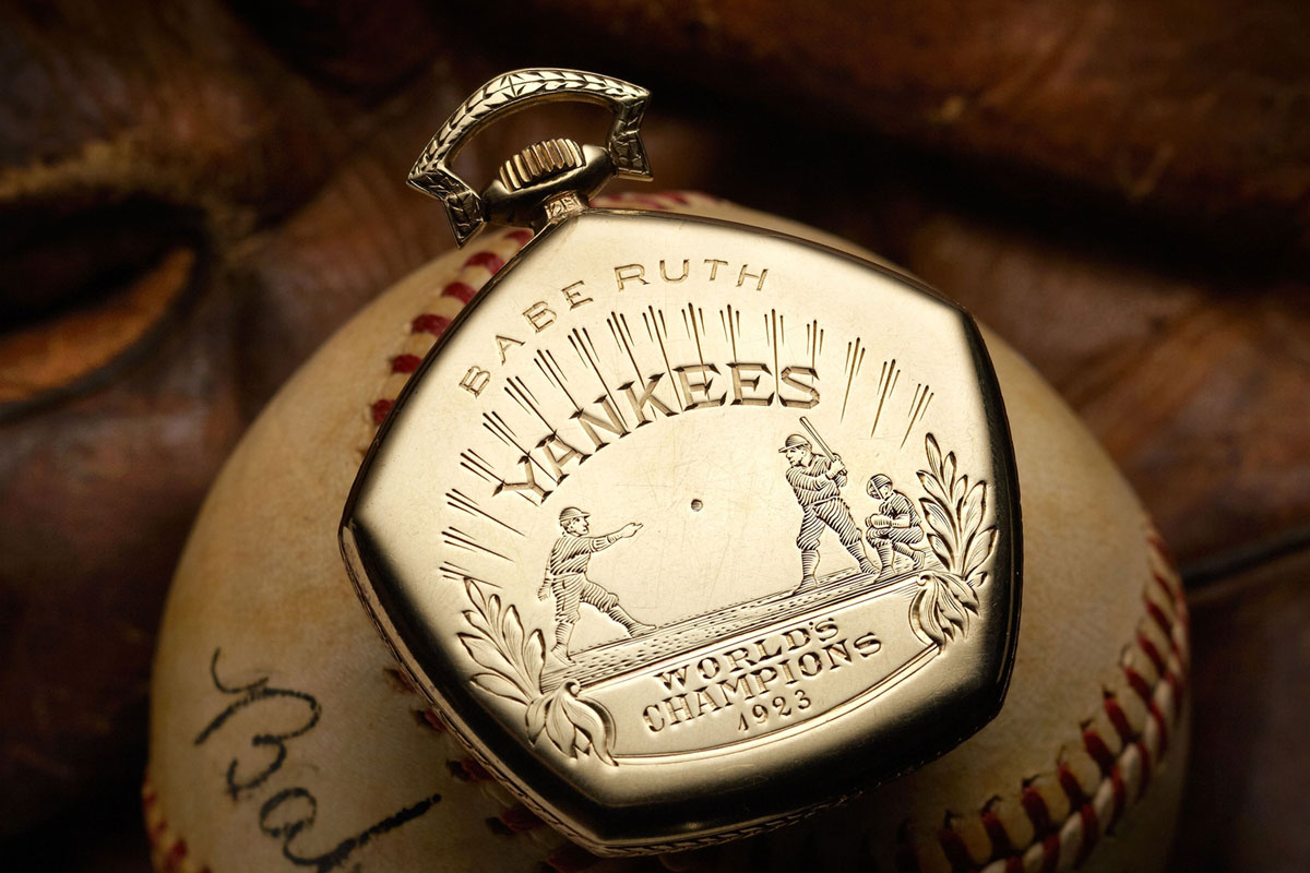 Babe Ruth World Series pocket watch