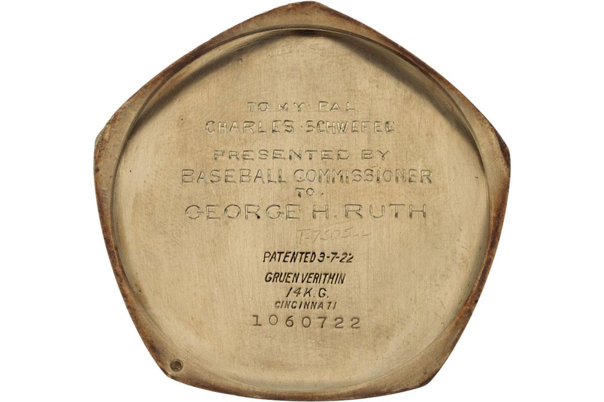 Babe Ruth World Series pocket watch