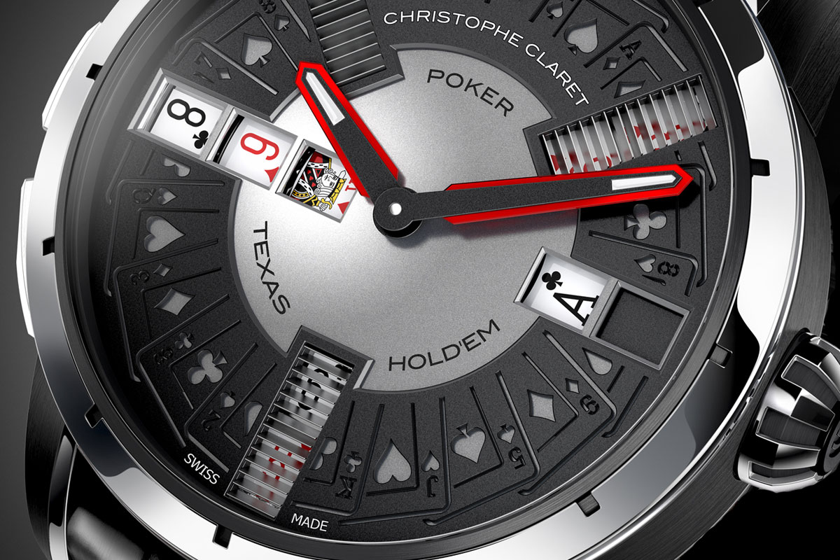 Christophe Claret Poker white gold